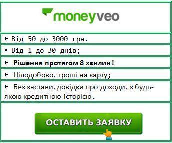 Онлайн кредити на карту