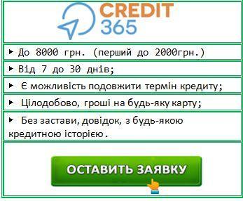 взяти онлайн кредит швидко