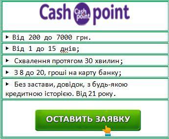Гроші в кредит онлайн