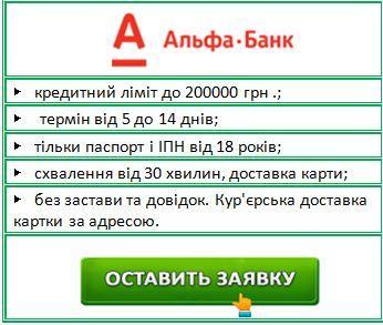 кредит без довідок в Україні